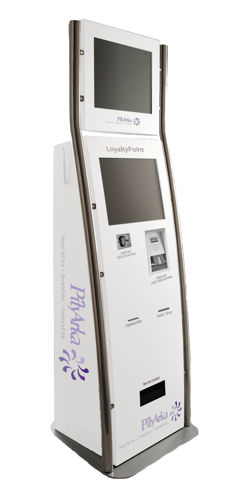 A Loyalty Gift Card Kiosk With State Of The Art Gift Registry