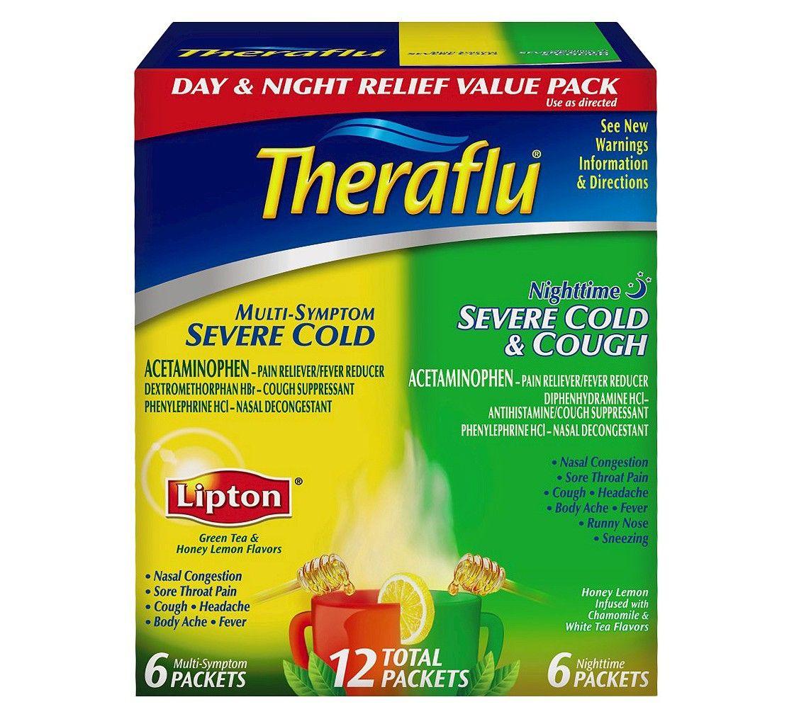 Theraflu Day And Night Multi Symptom And Severe Cold