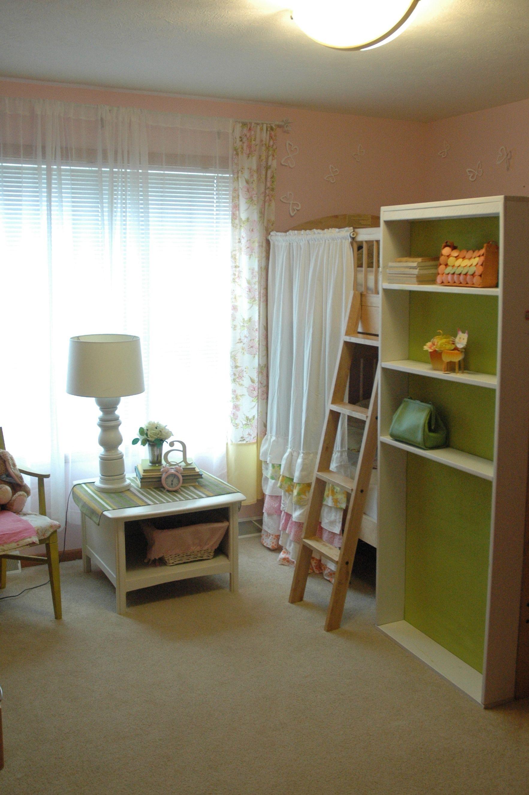 DIY bookshelf. love the idea of painted on the back