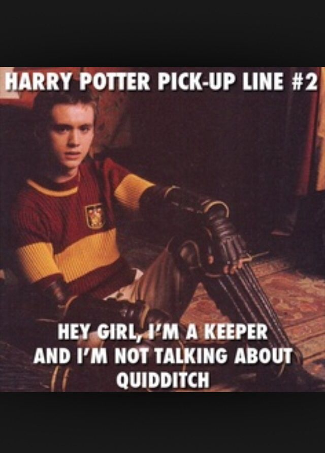 Harry potter pickup after telling my mom she needs the