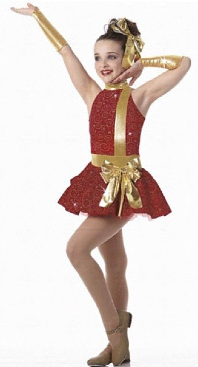Kendall vertes dance photo dance moms trajes de - Trajes de navidad para bebes ...