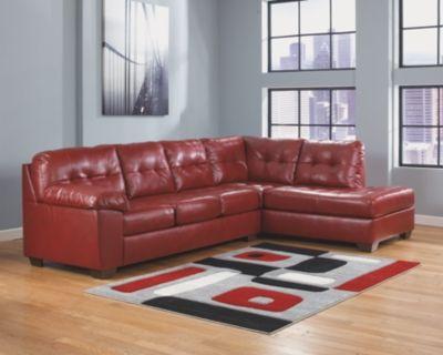 Alliston Durablend 2 Piece Sectional By Ashley Homestore Salsa Ashley Furniture Living Room