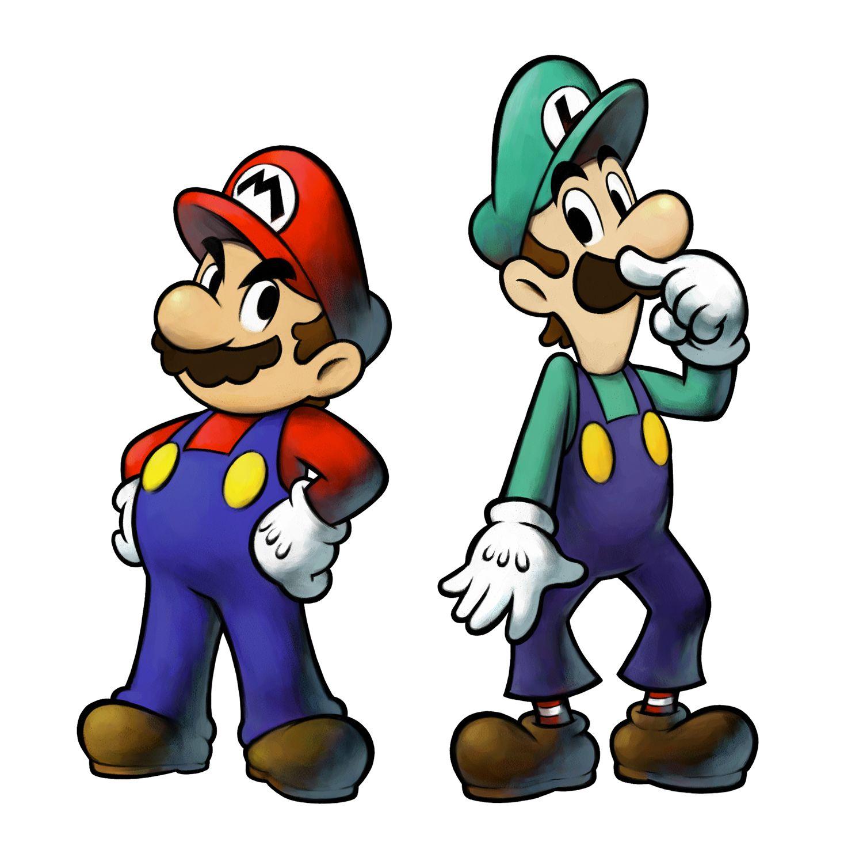 Mario And Luigi Arte Super Mario Diseno De Personajes Mario Y Luigi