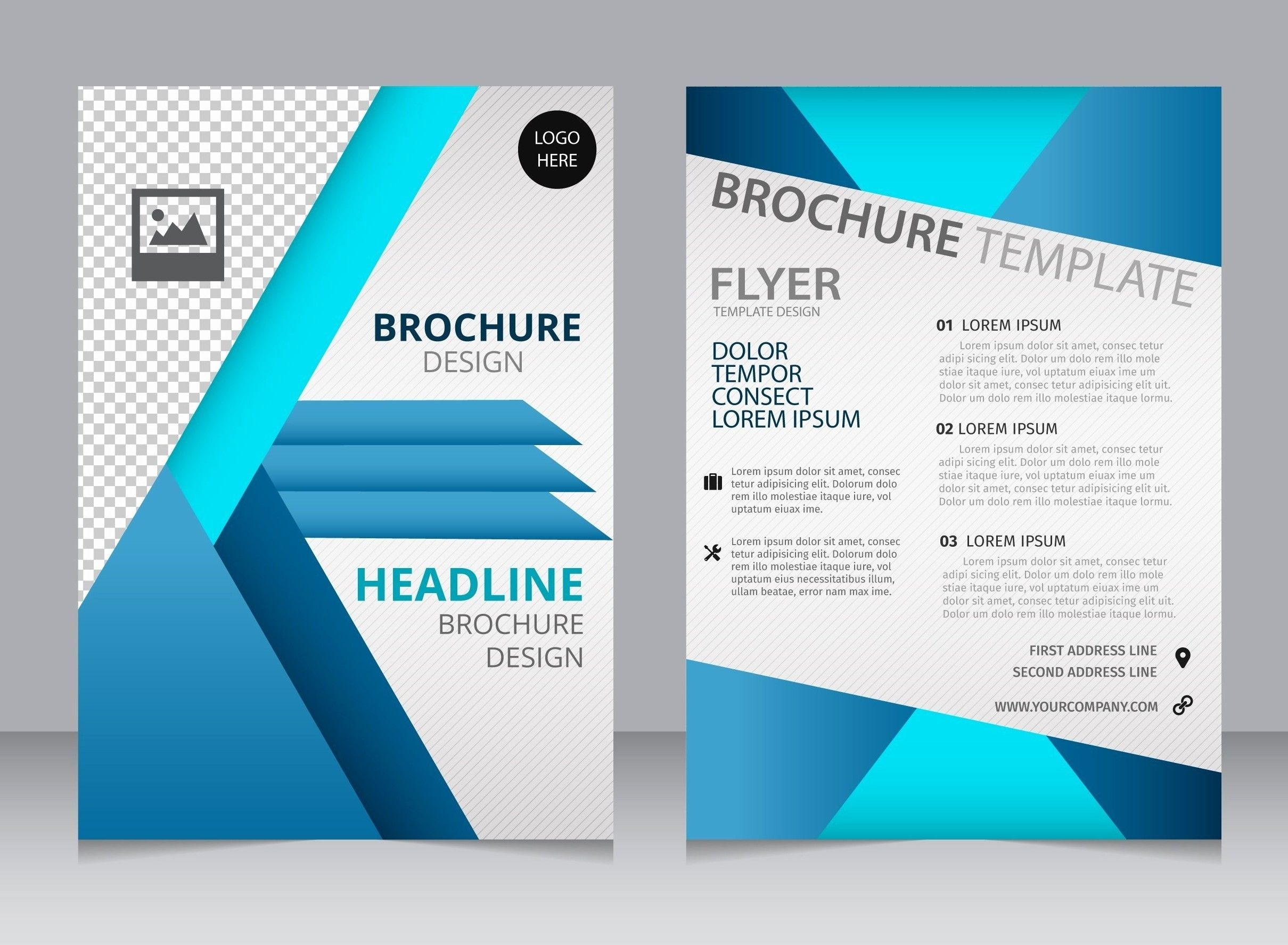 A4 Free Brochure Template For Word Free Brochure Template Brochure Template