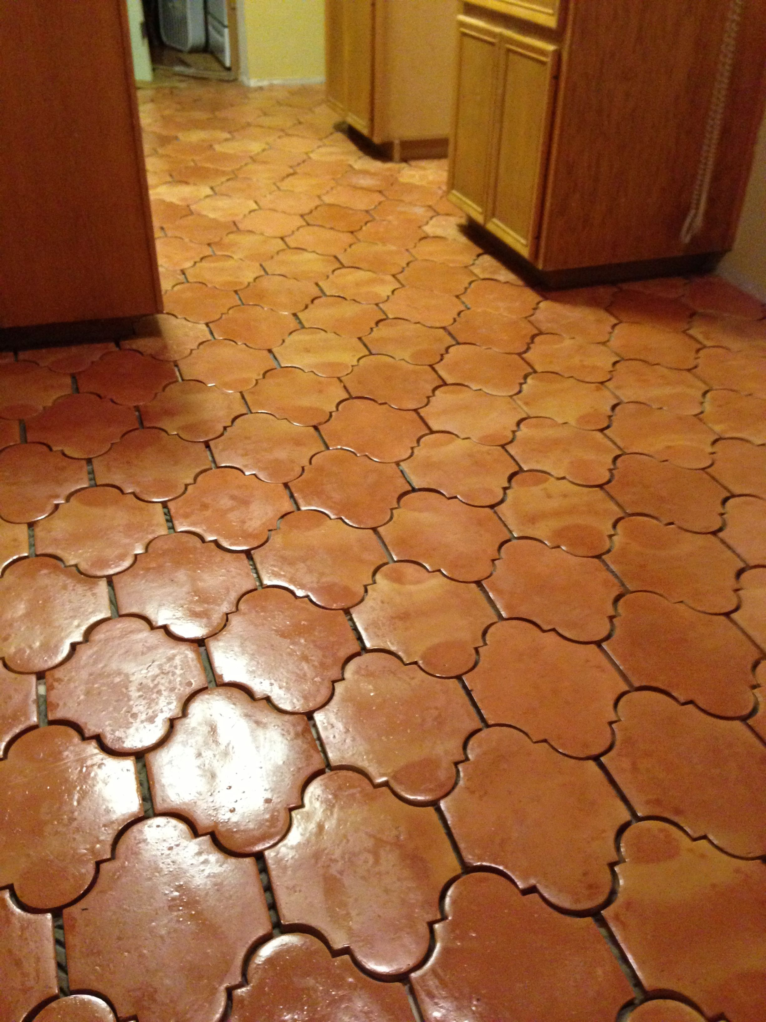 San Felipe Saltillo Tile No Grout Yet House Pinterest