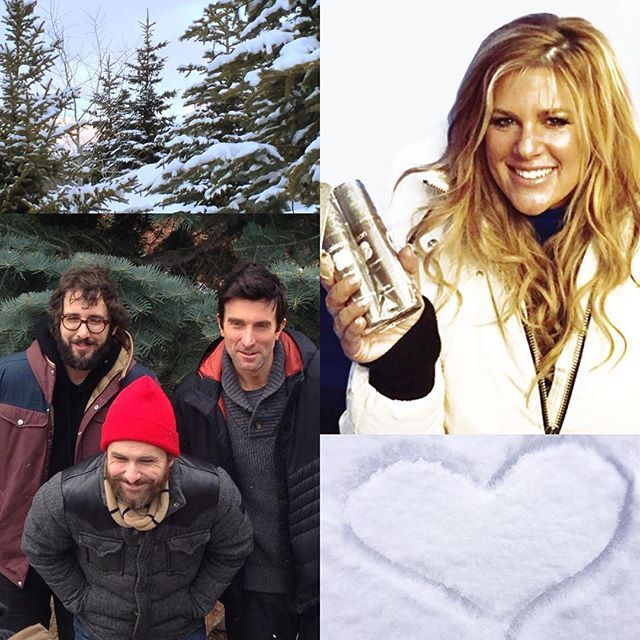 Starting to wind down at #Sundance. We had another great full day at the #IndieLounge with some fun celeb and press meetings. A special thank you to @carlyrobyngreen for showing some @saisonbeauty love. We also took some time to enjoy Park City and ran into the cast of #thehollars with @joshgroban #charlieday and #sharitocople! It was a great ending to a fantastic trip.   ❄❄Don't forget, the Saison Ultra Nourishing Moisturizer and Hydrating Hand Cream can keep your skin soft and moisturized…