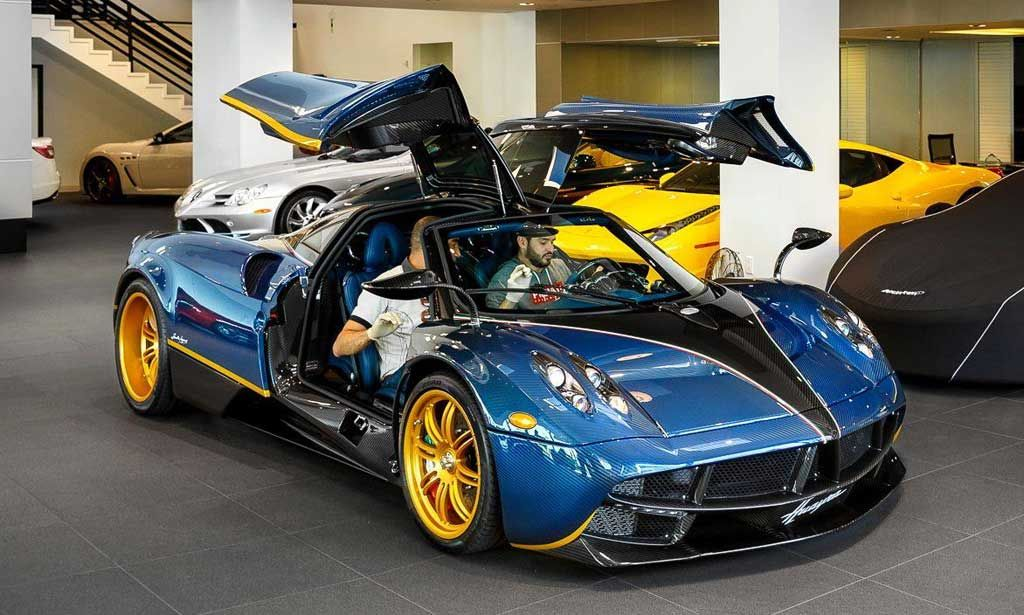 One Off Pagani Huayra 730s For Sale In Beverly Hills Pagani