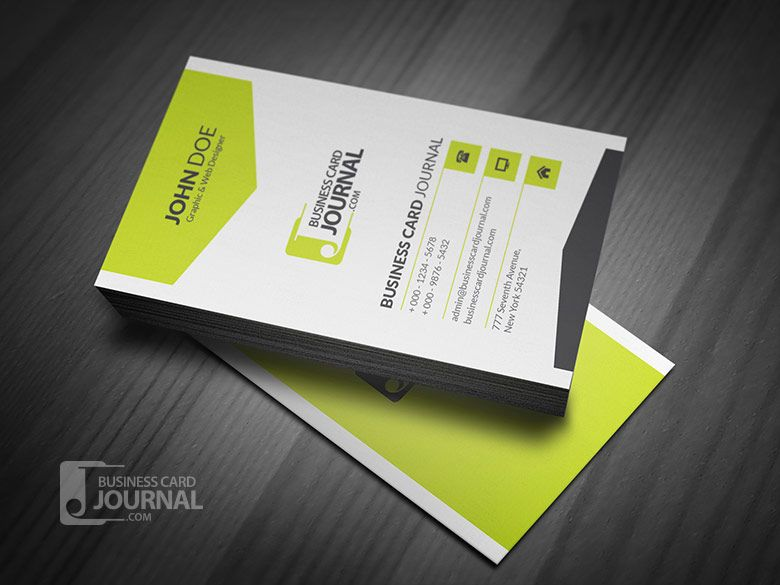 Black & White Vertical Business Card by Verazo - http://crtv.mk ...