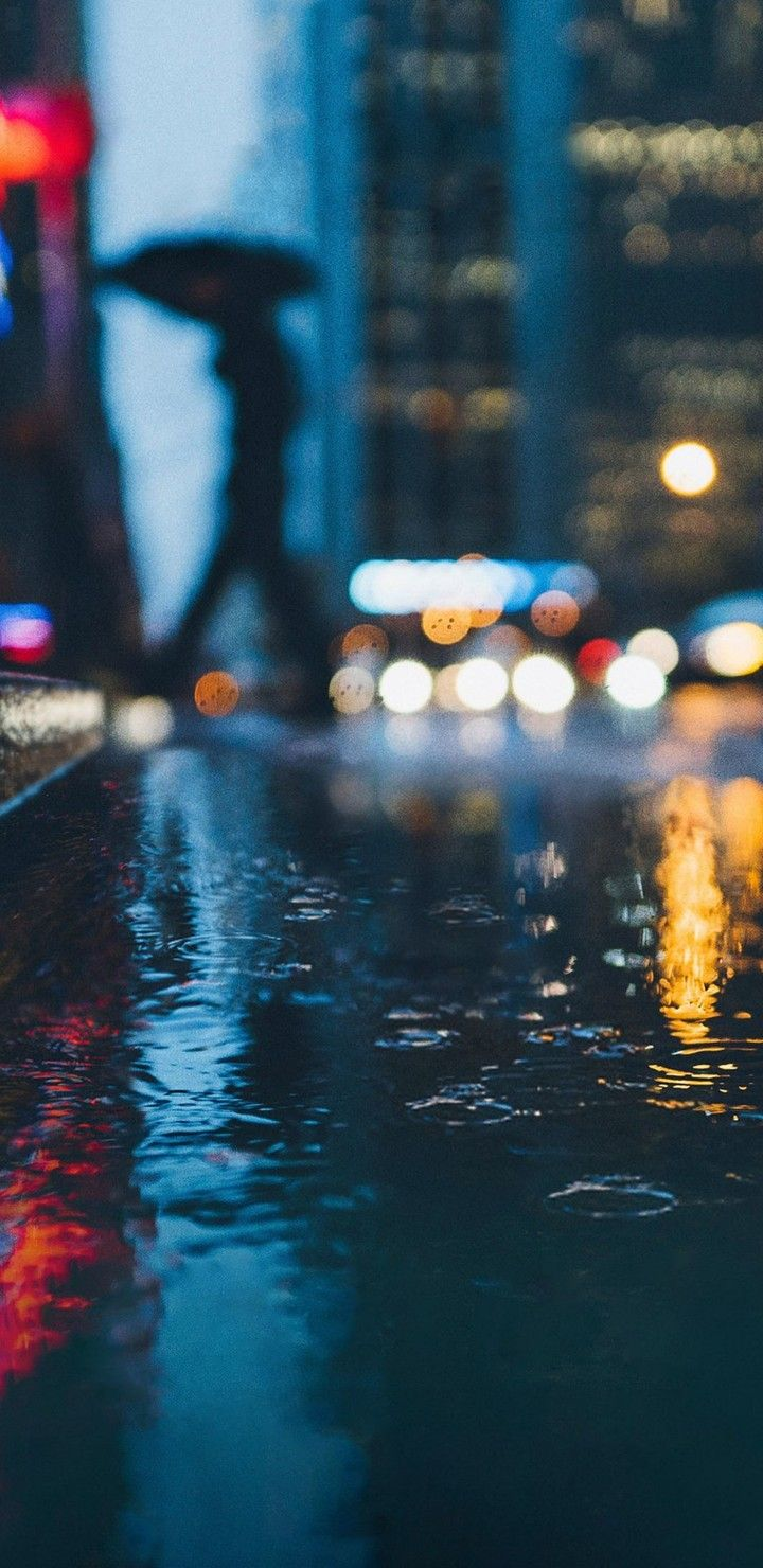 s8 s9 pixel 2 wallpaper rain street city night backgrhounds