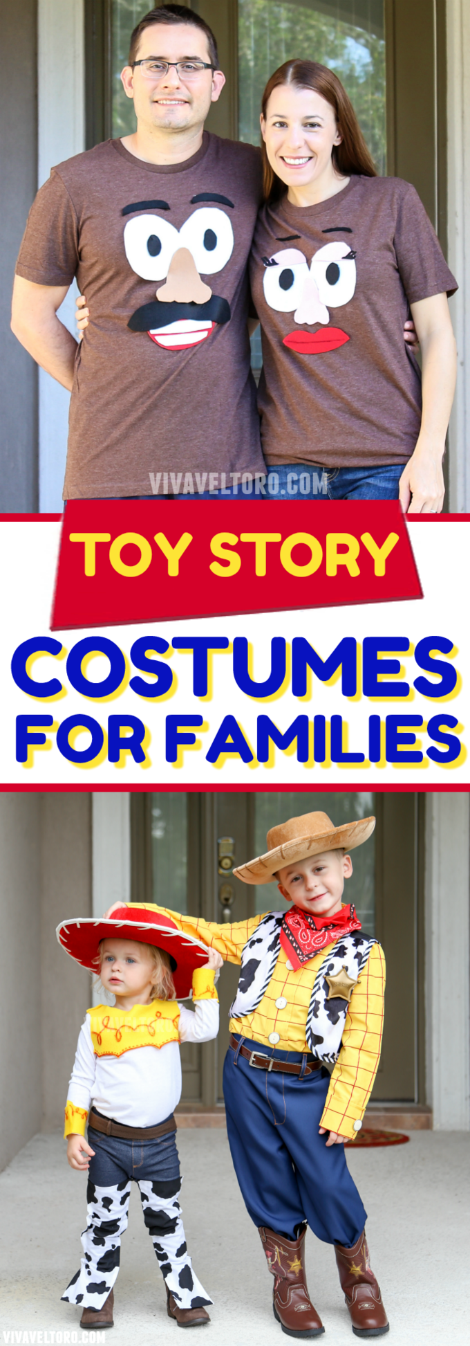 Want Toy Story Halloween Costumes for the whole family? We