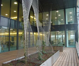 Decorative Wire Mesh Structure