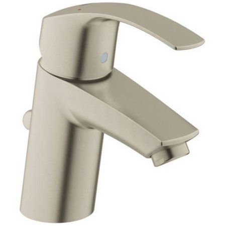 Grohe 32642002 Eurosmart 2015 Centerset Lavatory Faucet, Available in Various Colors, Silver