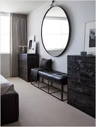 Round Mirror Above Dresser Google Search Spiegel Slaapkamer Bed