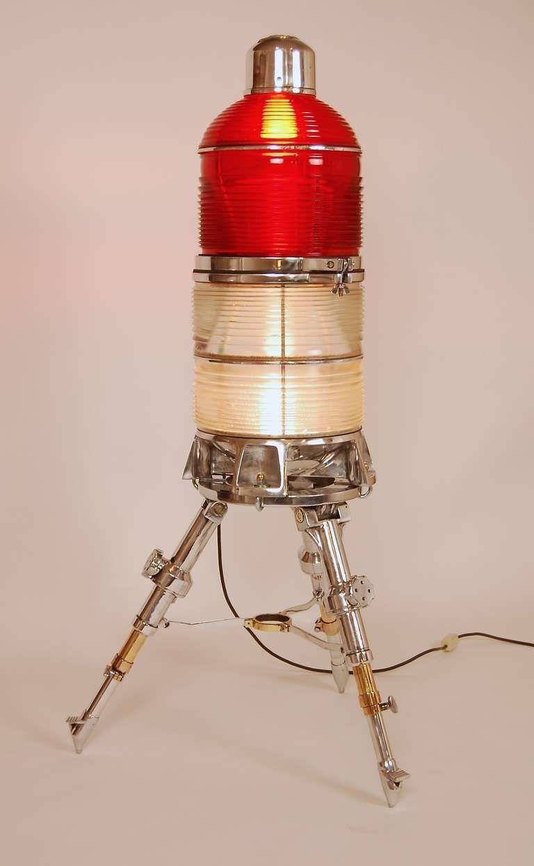 Vintage Airport Runway Light 1stdibs Com Lamp Vintage Floor Lamp Aviation Decor