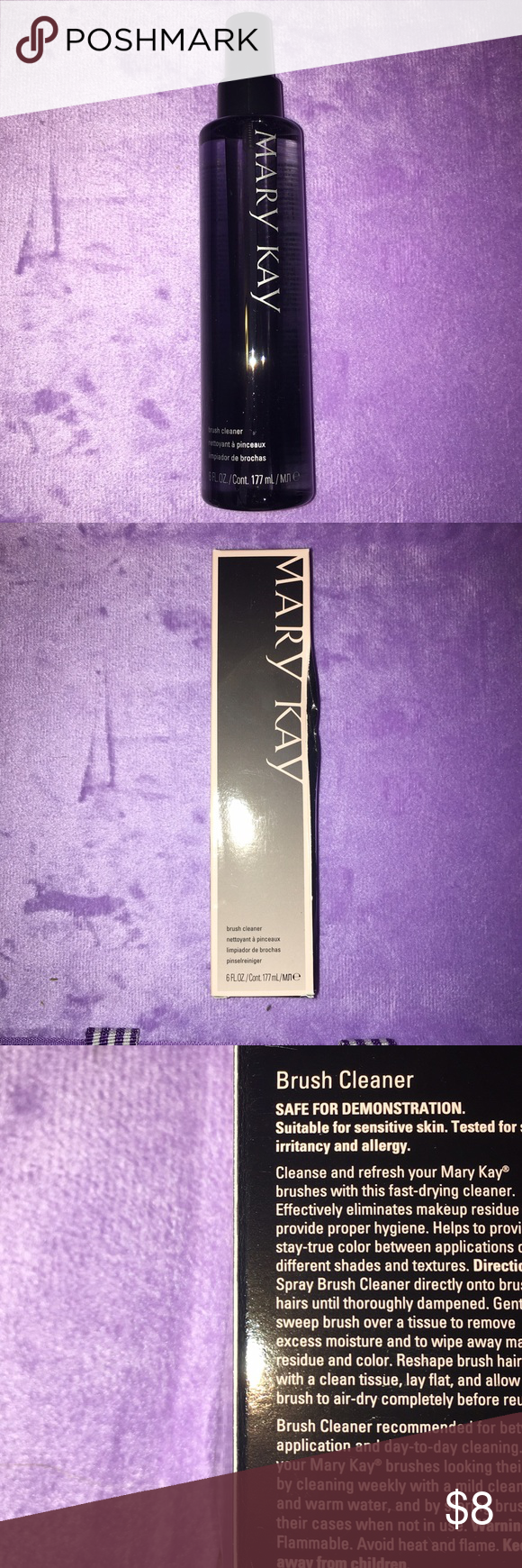 Mary Kay Brush Cleaner Fast drying Eliminated makeup