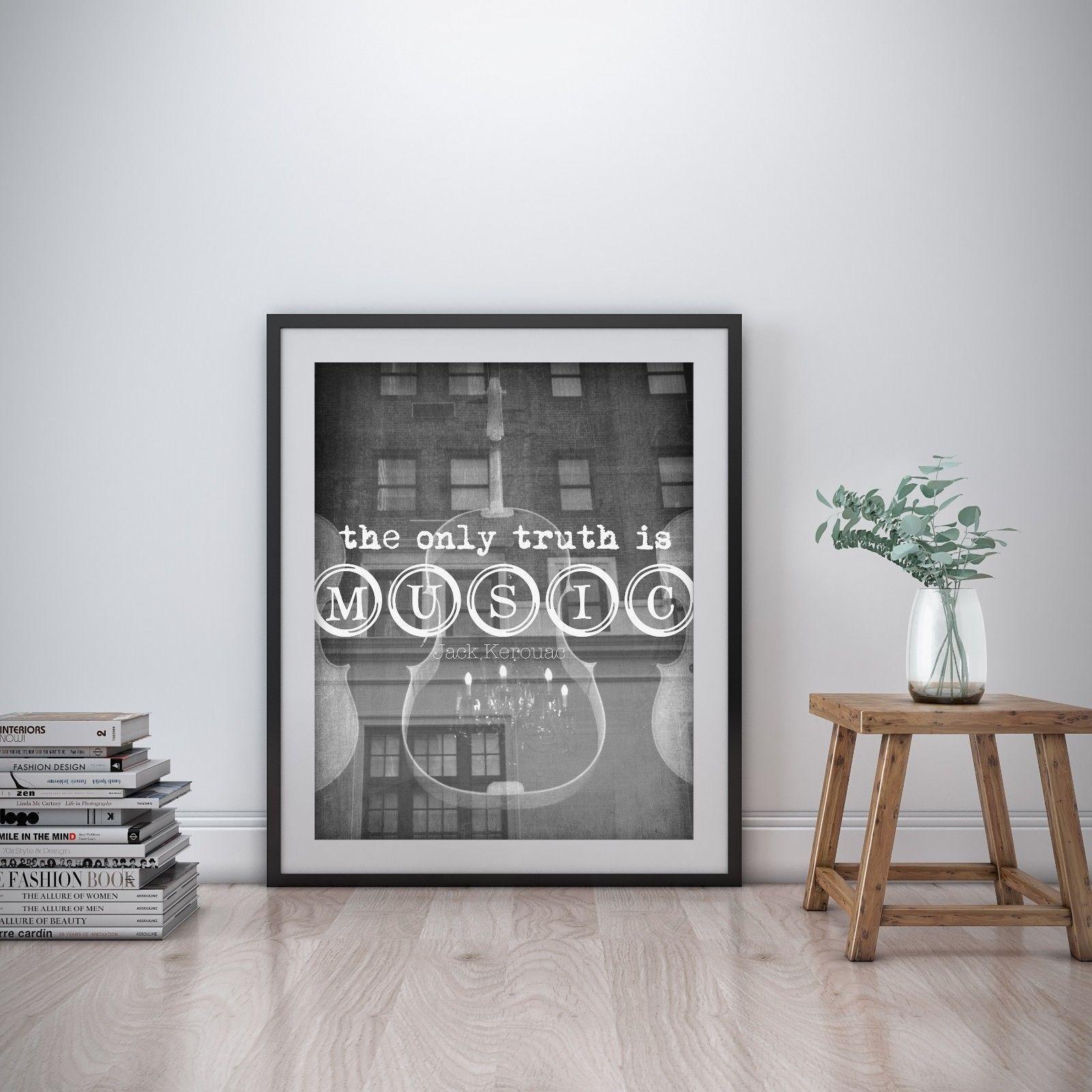 Details about Jack Kerouac Inspirational Wall Art Print ...