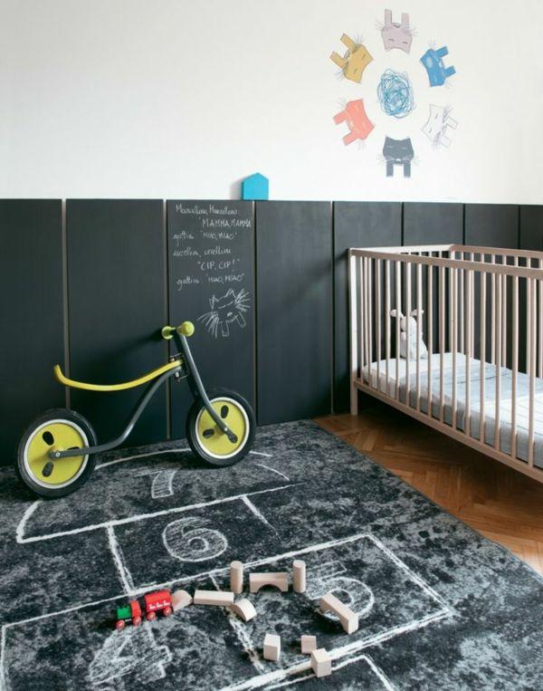 Fantastisch 30 Ideen Für Kinderzimmergestaltung   Kinderzimmer Gestalten Ideen Deko  Tafel Schwarz Matt