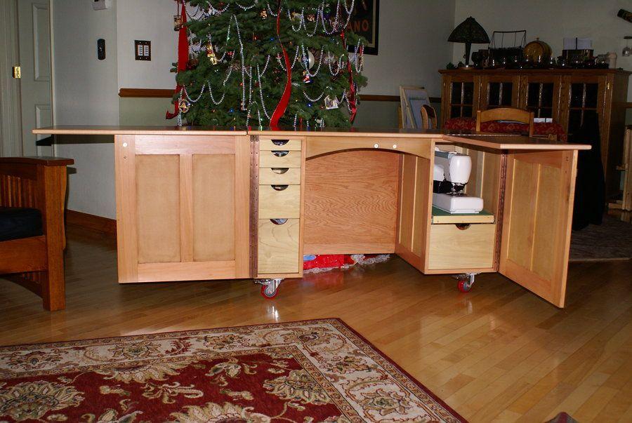 Sewing Machine Cabinet Plan - Sök På Google