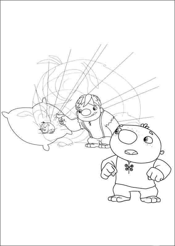 Wallykazam Coloring Pages 10 | Eli bday | Pinterest | Online coloring
