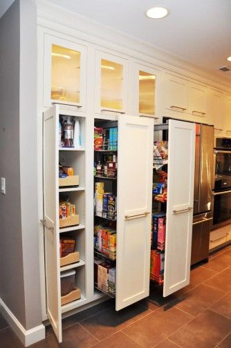 Ikea Pull Out Pantry Kitchen Storage Cabinets With Doors Pantry