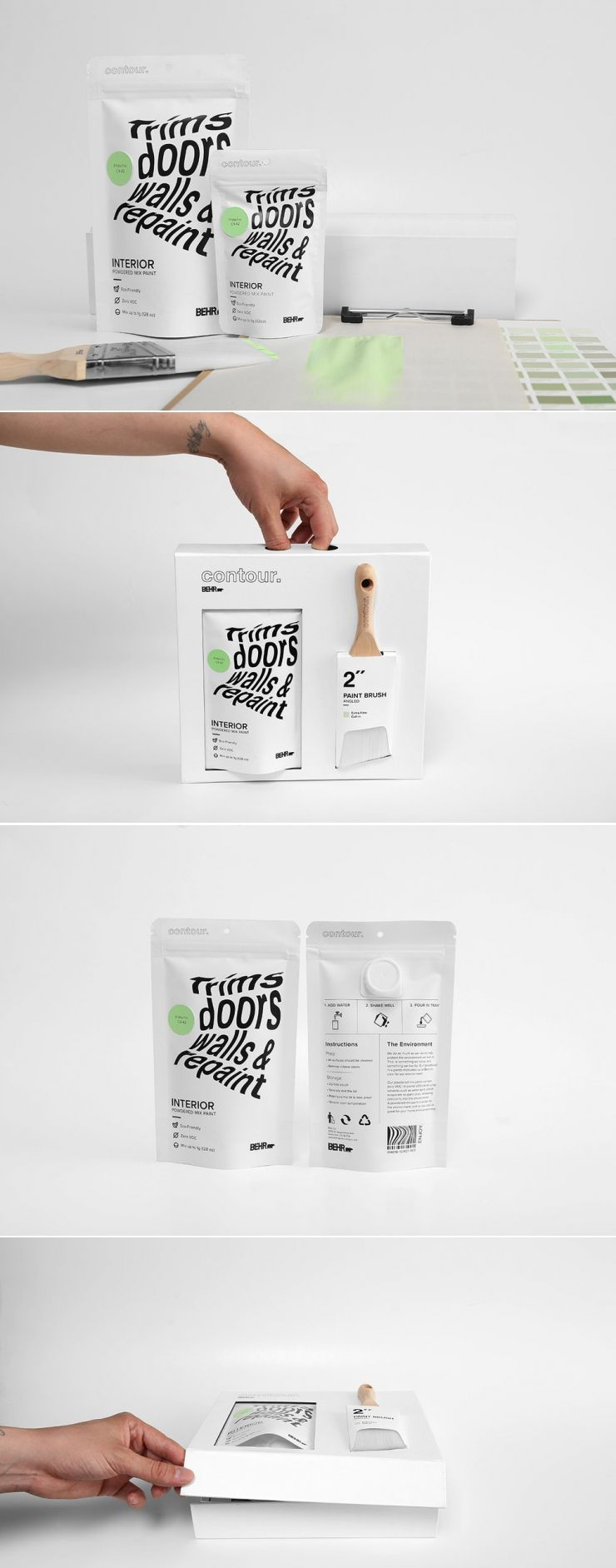 Check Out This New Take on Behr Paints — The Dieline | Packaging & Branding Design & Innovation News