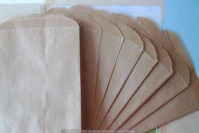 kraft paper favor bags