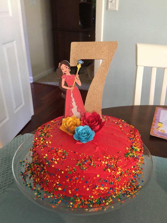 Elena Of Avalor Cake Topper Elena Cupcake Toppers Elena Of