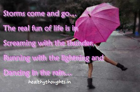 Real Fun Of Life_dancing In The Rain · Rain QuotesYahoo SearchQuotes On  LifeDancingOf ...