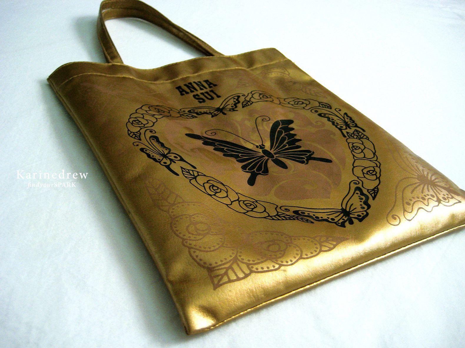 shop-my-closet | Anna Sui gold bag | Seasonal Collection ...