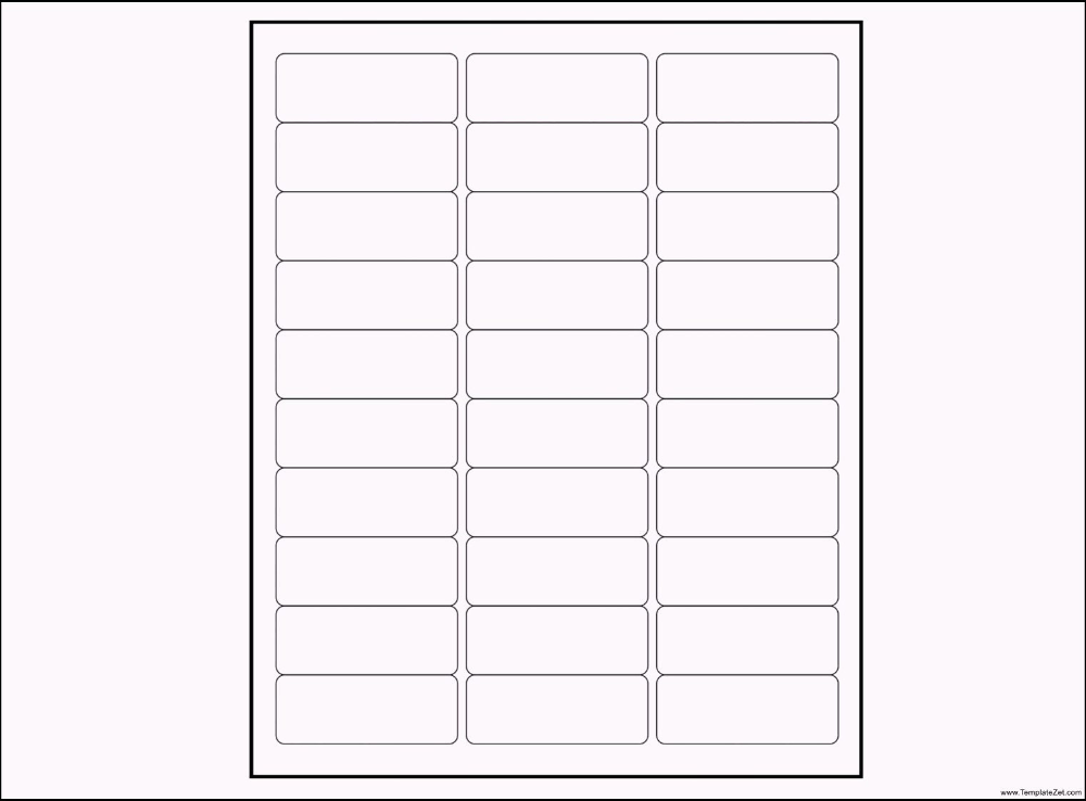 Google Docs Label Template Address Label Template Label Templates Printable Label Templates