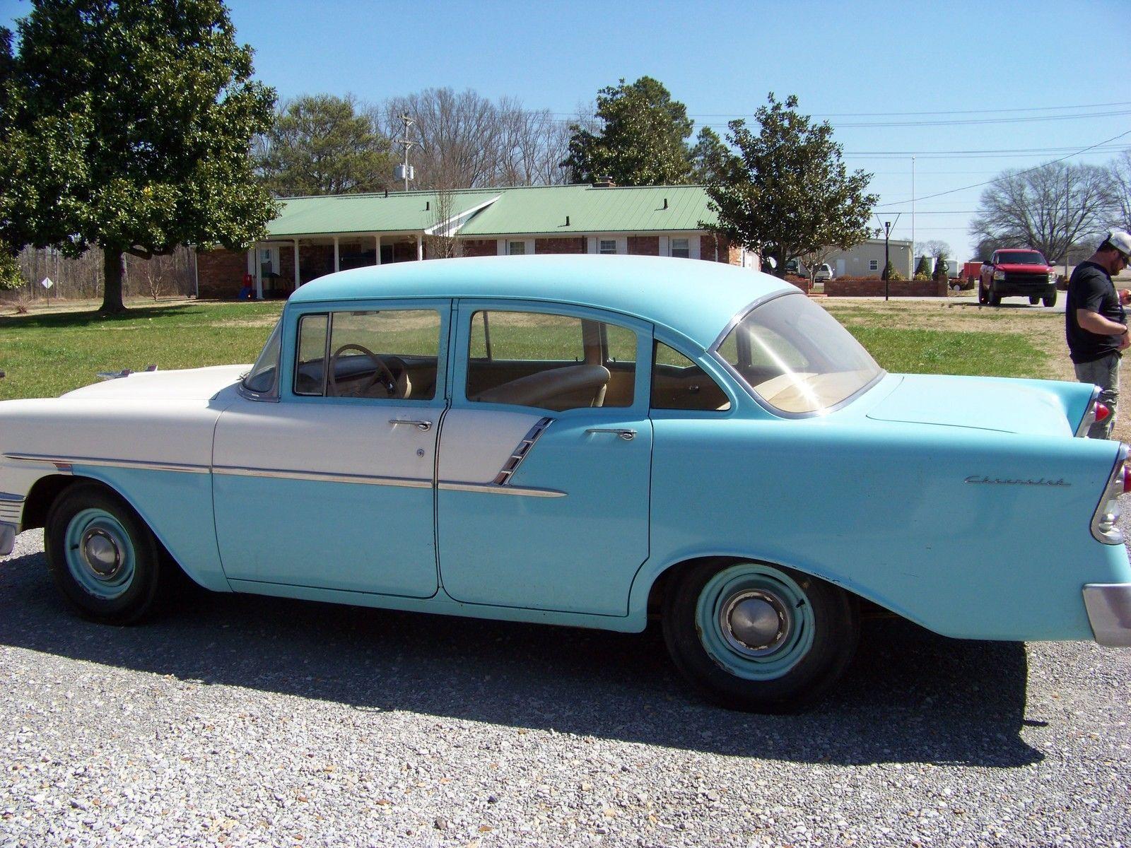 1956 chevrolet bel air 150 4 door sedan chevrolet bel for 1956 chevrolet belair 4 door