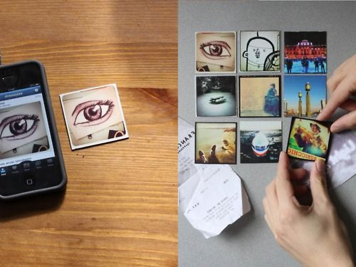 turn your instagram photos into magnets with stickygram