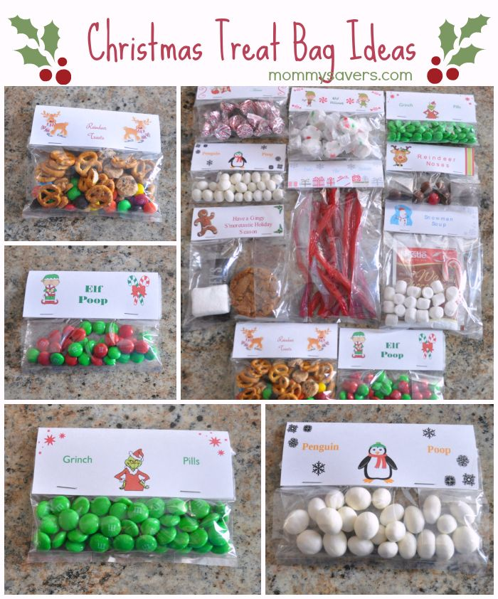 Christmas Treat Bag Ideas Ten Creative Examples Mommysavers Com Online Coupons Savings