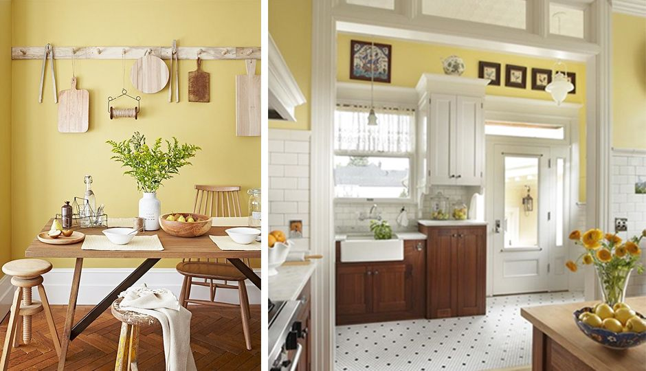 What Paint Color In Kitchens Cause Houses To Sell For $1,400 More? Yellow!