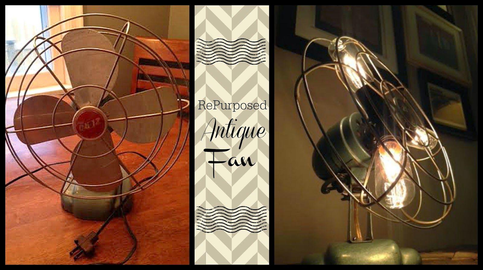 Repurposed Antique Lamp