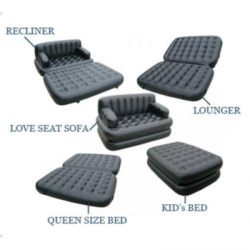 Buy Online 5 In 1 Air Sofa Bed 5 In 1 Air Sofa Bed Quality And Durability The Product Is Made Of 3 Mm Thick High Air Sofa Bed Inflatable Sofa Bed Mattress Sofa