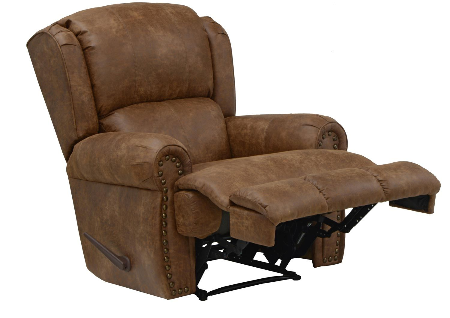 Catnapper Dempsey Bonded Leather Deluxe Lay Flat Recliner
