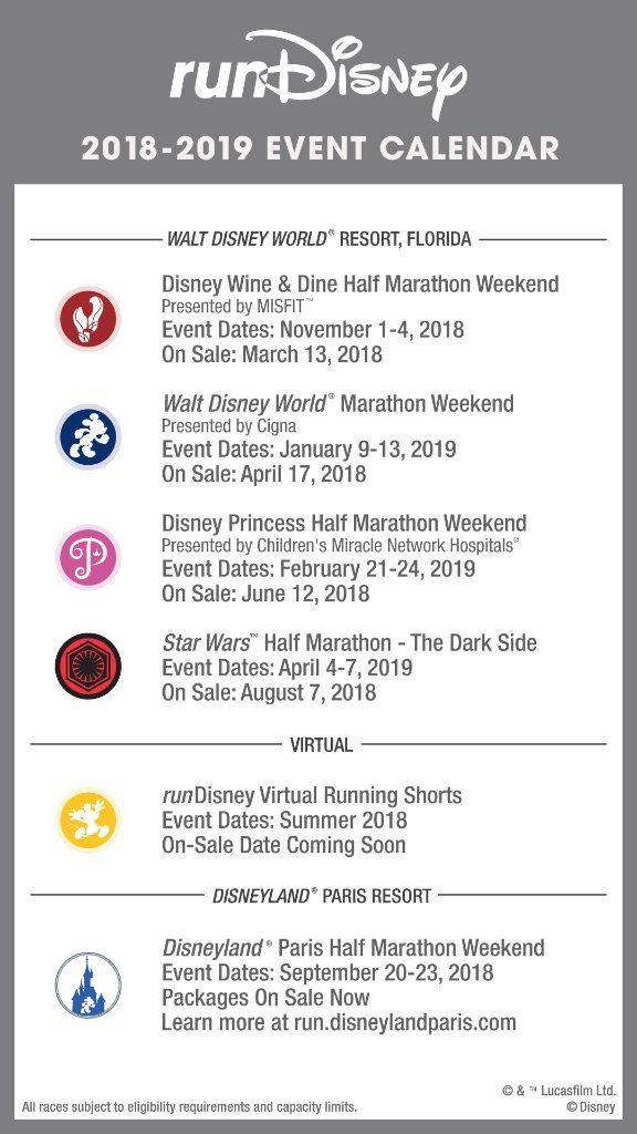 runDisney news October 23-November 5, 2017 Will Run For Disney - event calendar