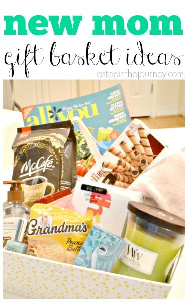 new mom gift basket with mccafemyway diy ideas pinterest