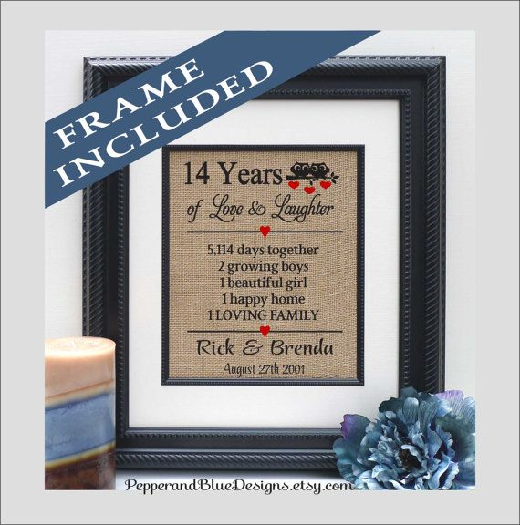 Wedding Gifts By Years: 14th Wedding Anniversary Gifts 14 Years By