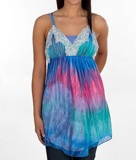 Gimmicks by BKE All-Over Print Tank Top