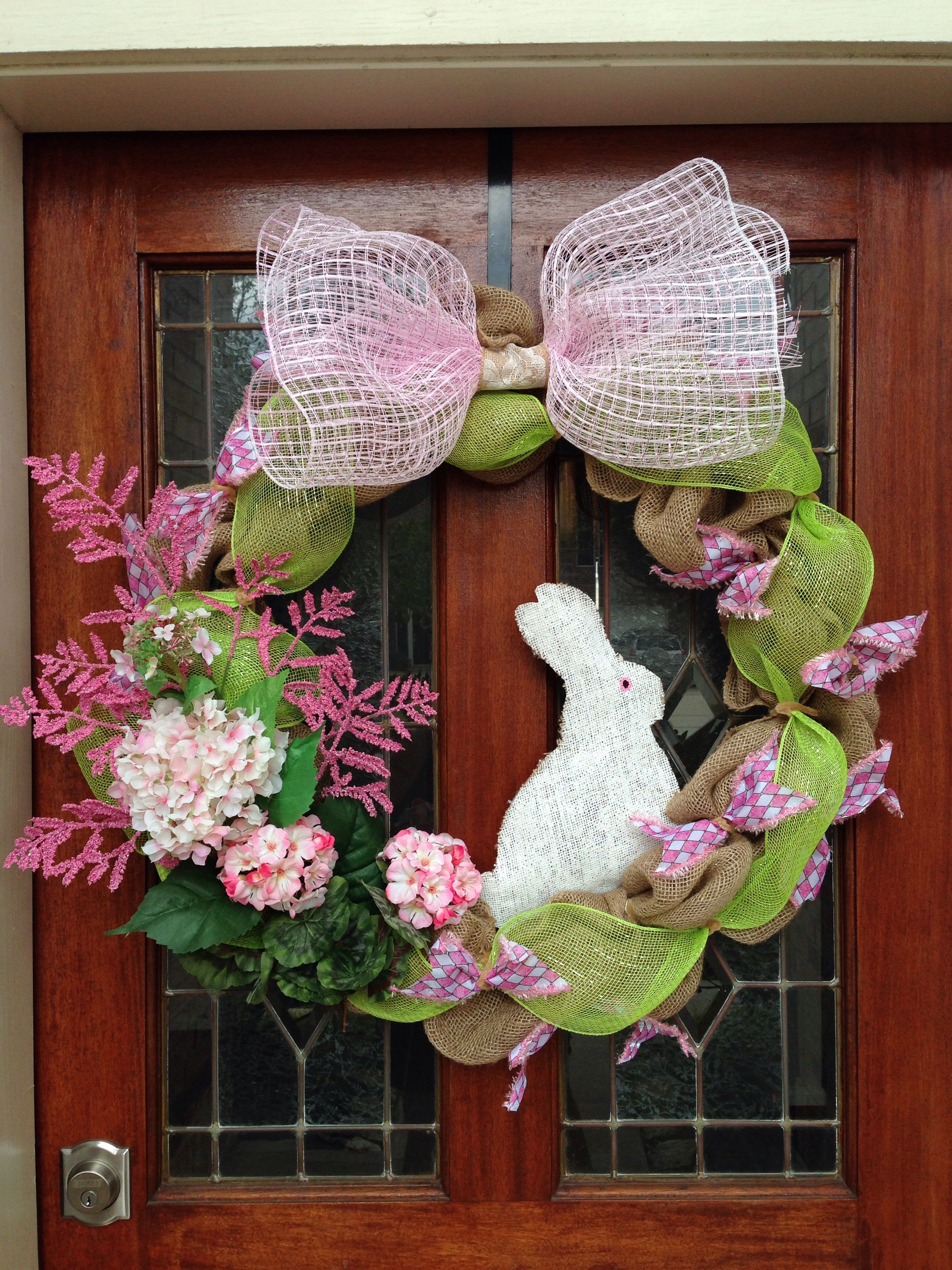My new Spring wreath!