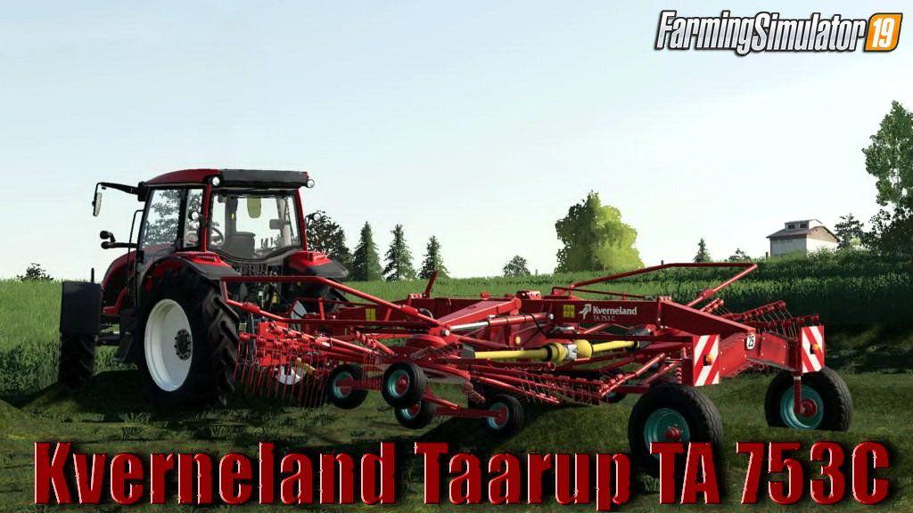 Kverneland Taarup TA 753C v1.0 for FS19 Farming