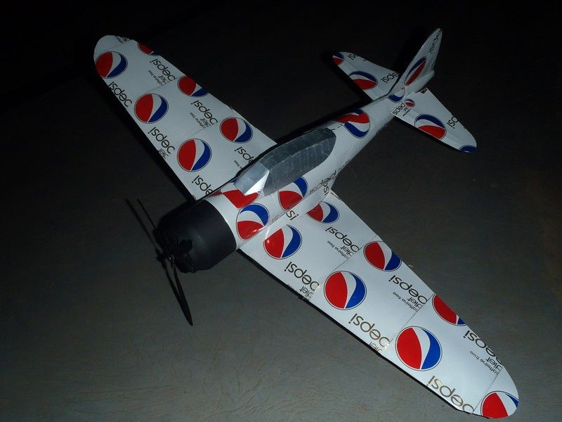Crafts Soda Can Airplane