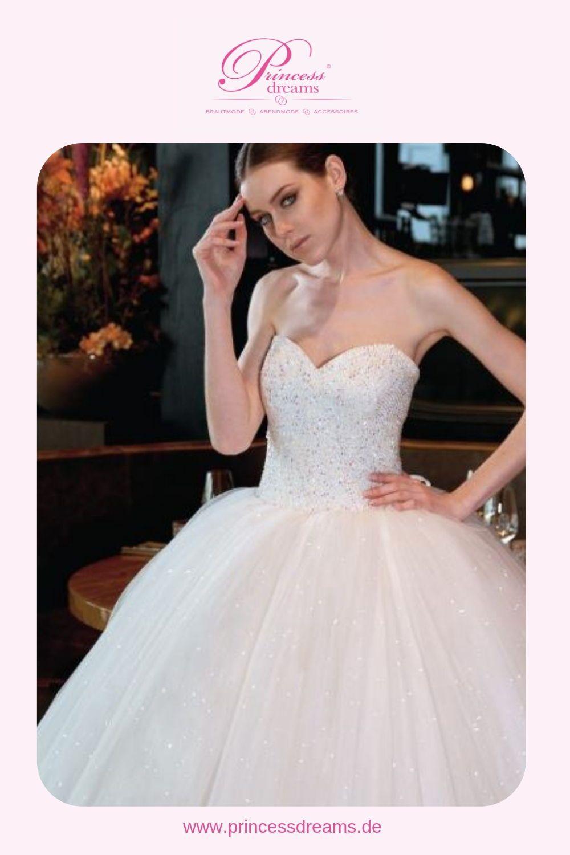 Ein wunderschönes Brautkleid für eine Prinzessin! Dieses