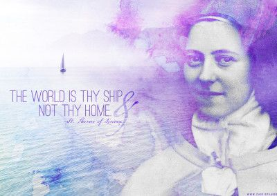 Desktop Wallpapers Catholic Wallpaper Lisieux Therese Of Lisieux