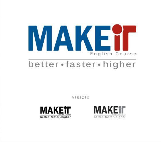 Criação de nome e logo: Make it.