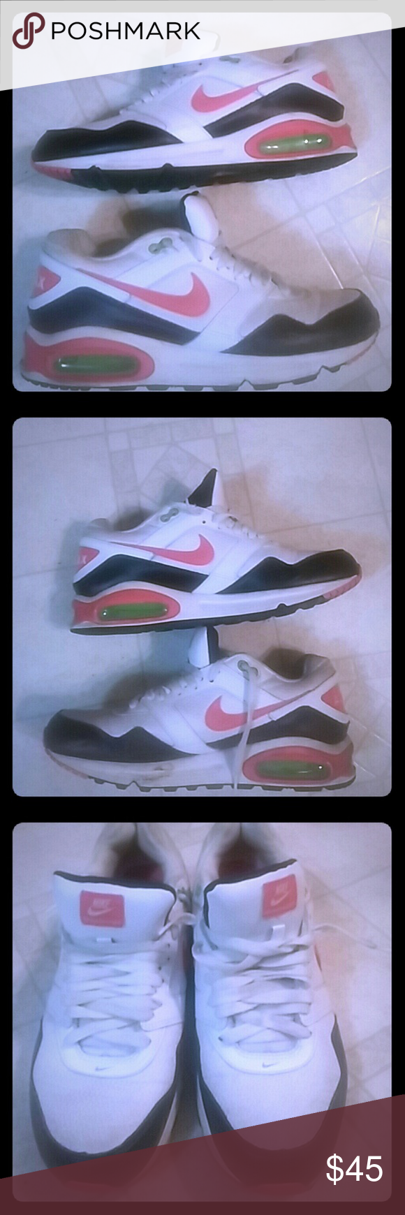 NIKE AIR MAX NAVIGATE WMNS RUNNING SHOES 454249 11 SZ 11 pre-cleaning. Will Clean and update pics later. Nike Shoes Sneakers