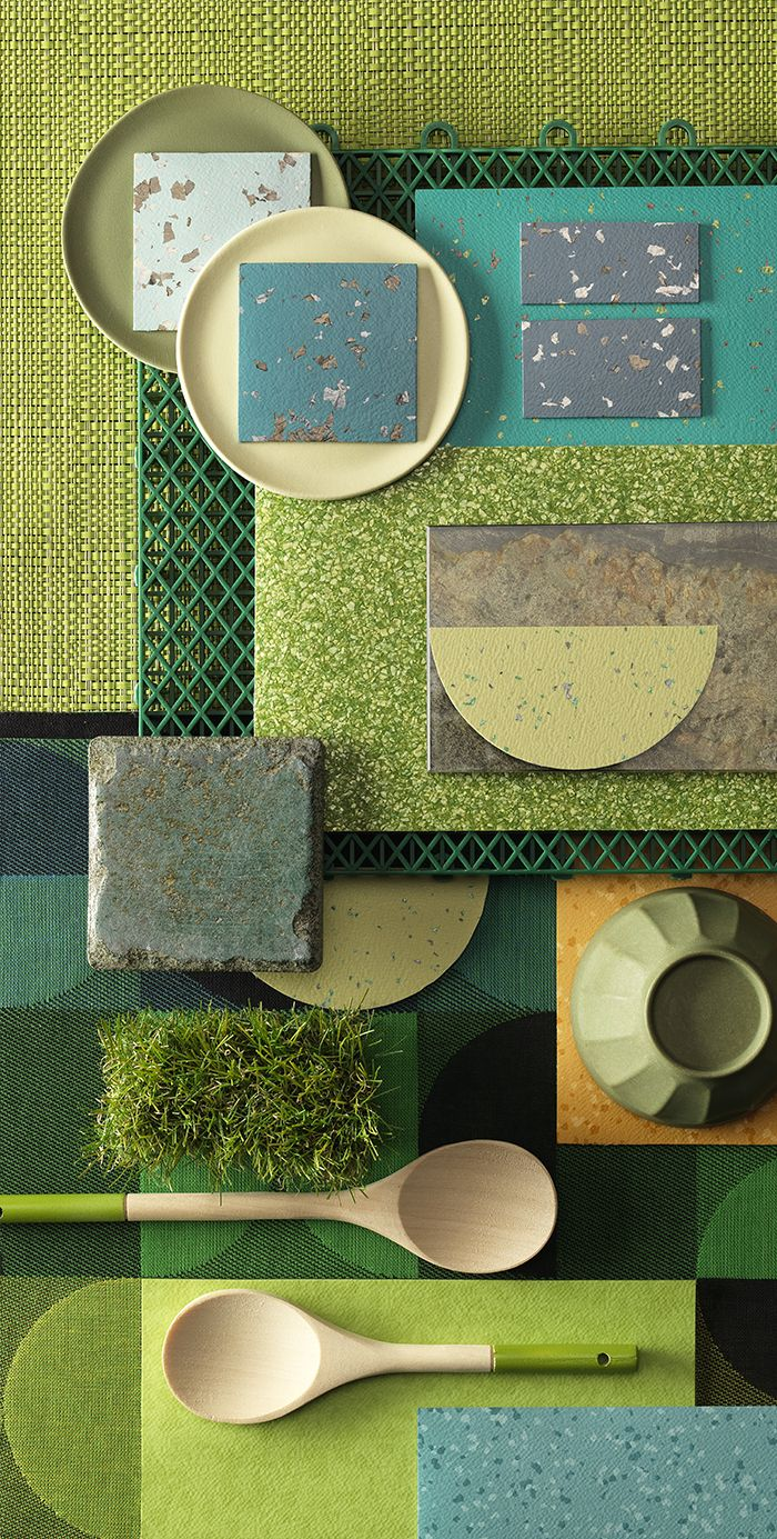 Be at one with nature by introducing shades of green into your interior from our new Taralay Premium range!