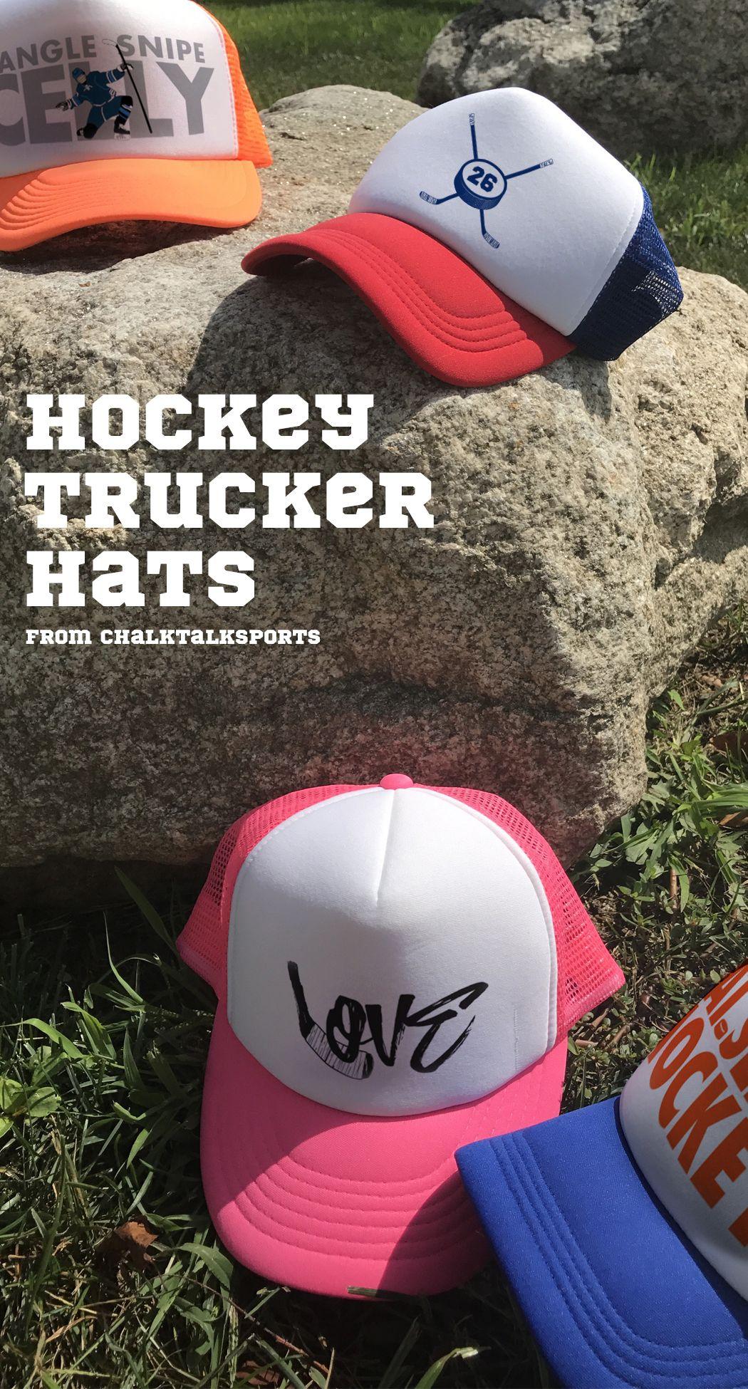 977fd1d5 Trucker hats -- just for Hockey Players! | field hockey. | Hockey ...